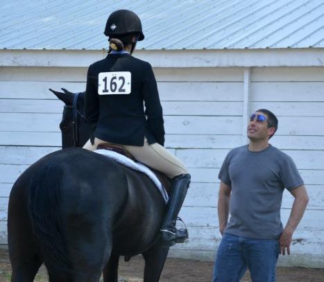 Haley horse coaching pic