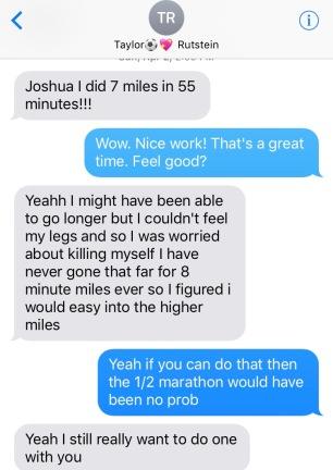 Tay Running Text